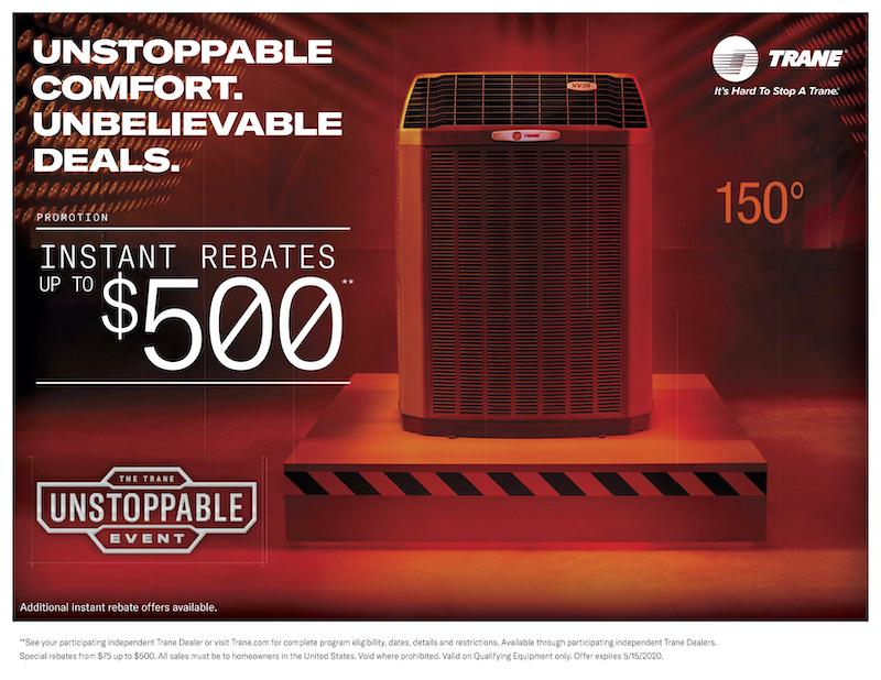 trane unstoppable event spring 2020