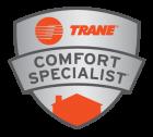 trane comfort specialist badge