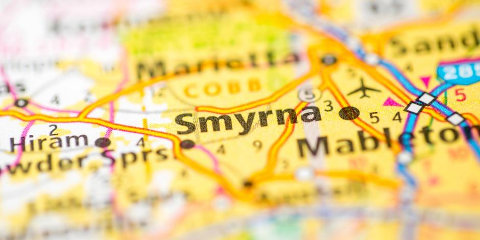 Smyrna, GA map