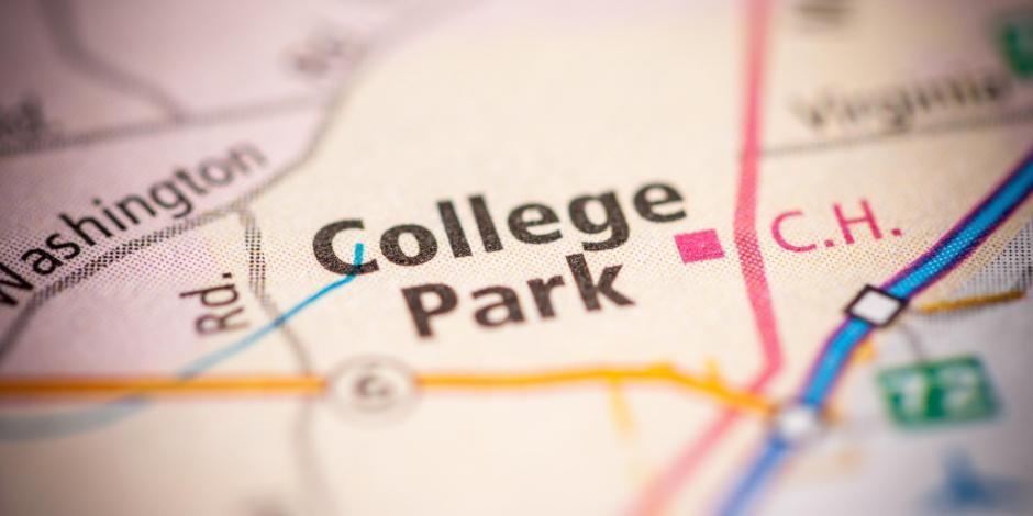 College Park, Georgia on a map
